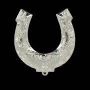 Кубачинская серебряная подкова ручной работы малая арт.4911
