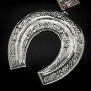 Кубачинская серебряная подкова ручной работы большая арт.6199