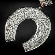 Кубачинская серебряная подкова ручной работы большая арт.6210