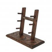 Деревянная подставка для ножей (дуб) арт.10024