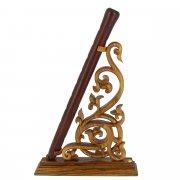 Деревянная подставка для дудука (резная) арт.9067