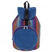 Рюкзак в этно стиле из ткани ручной работы арт.9125