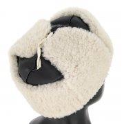 Мужская шапка-ушанка из овчины ручной работы арт.8950