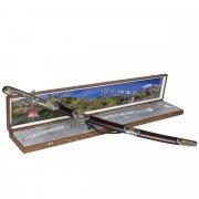 Кубачинский подарочный набор в футляре (шашка с серебряными вставками) арт.7583
