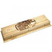 Кизлярский шашлычный набор ручной работы в деревянном кейсе арт.5274