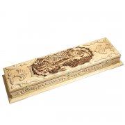 Кизлярский шашлычный набор ручной работы в деревянном кейсе арт.5275