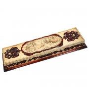 Кизлярский шашлычный набор ручной работы в деревянном кейсе арт.5276