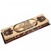 Кизлярский шашлычный набор ручной работы в деревянном кейсе арт.5278
