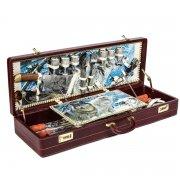 """Шашлычный набор в подарочном дипломате (серия """"Элит"""") арт.6382"""