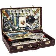 """Шашлычный набор в подарочном дипломате (серия """"Элит"""") арт.6383"""