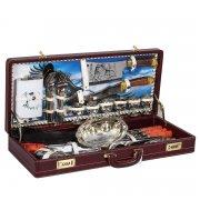 """Шашлычный набор в подарочном дипломате (серия """"Элит"""") арт.7773"""
