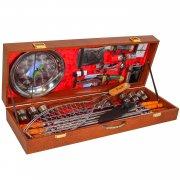 Кизлярский шашлычный набор в подарочном кейсе большой арт.8437