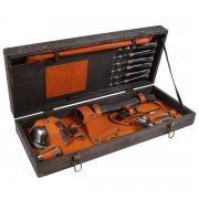 """Эксклюзивный шашлычный набор в деревянном чемодане """"Президент"""" арт.9066"""