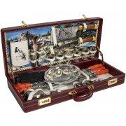 """Шашлычный набор в подарочном дипломате (серия """"Элит"""") арт.7091"""