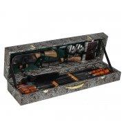 Кизлярский шашлычный набор в подарочном кейсе малый арт.6736