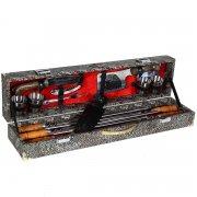 Кизлярский шашлычный набор в подарочном кейсе малый арт.6743