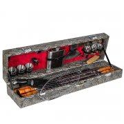 Кизлярский шашлычный набор в подарочном кейсе большой арт.6744