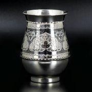 Серебряный стакан Кубачи ручной работы арт.8646