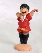 """Подарочная статуэтка ручной работы """"Асса, Гоги!"""" обожженная глина"""