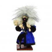 """Сувенирная кукла-композиция на деревянной подставке """"Барана в подарок"""" арт.1869"""