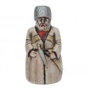 """Керамический сувенир-колокольчик """"Кавказец"""" арт.7341"""
