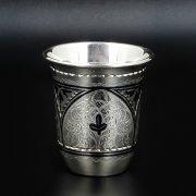 Серебряная стопка Кубачи ручной работы арт.8642
