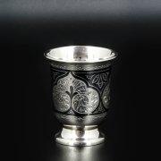 Серебряная стопка Кубачи ручной работы арт.8644