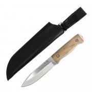 """Кизлярский нож разделочный """"Т-1"""" (сталь - AUS-8, рукоять - дерево) арт.4083"""