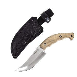 """Кизлярский нож разделочный """"Восточный"""" (сталь - AUS-8, рукоять - дерево) арт.4108 - фото 1"""