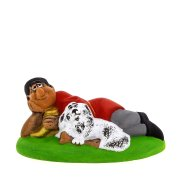 """Подарочная статуэтка """"Отдыхающий пастух"""""""