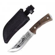 """Кизлярский нож туристический """"Рыбак-2"""" (сталь 12С27, рукоять дерево) арт.4797"""