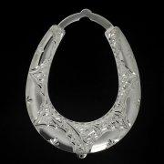 Кубачинская серебряная подкова ручной работы большая арт.2666