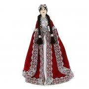 Керамическая кукла в Азербайджанском национальном костюме (большая)