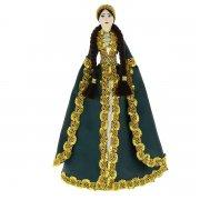 Керамическая кукла в ингушском национальном костюме (большая №3)