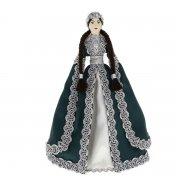 Керамическая кукла в адыгейском национальном костюме (большая №3)