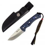"""Охотничий нож """"Kid"""" (сталь - 440C Satin, рукоять - микарта) арт.4745"""