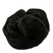 Мужская шапка-ушанка из овчины ручной работы арт.7018