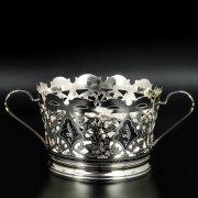 Серебряная конфетница Кубачи ручной работы арт.8669