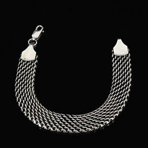 Мужские ювелирные браслеты из серебра
