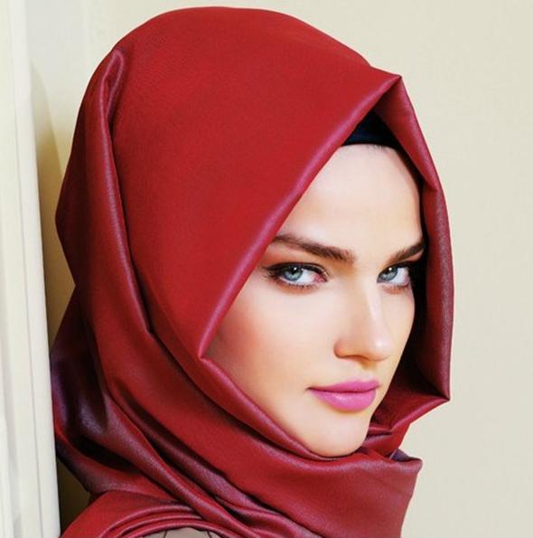 как завязать платок мусульманки фото