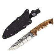 "Кизлярский нож туристический ""Зодиак"" (сталь - 65Х13, рукоять - дерево) арт.2092"